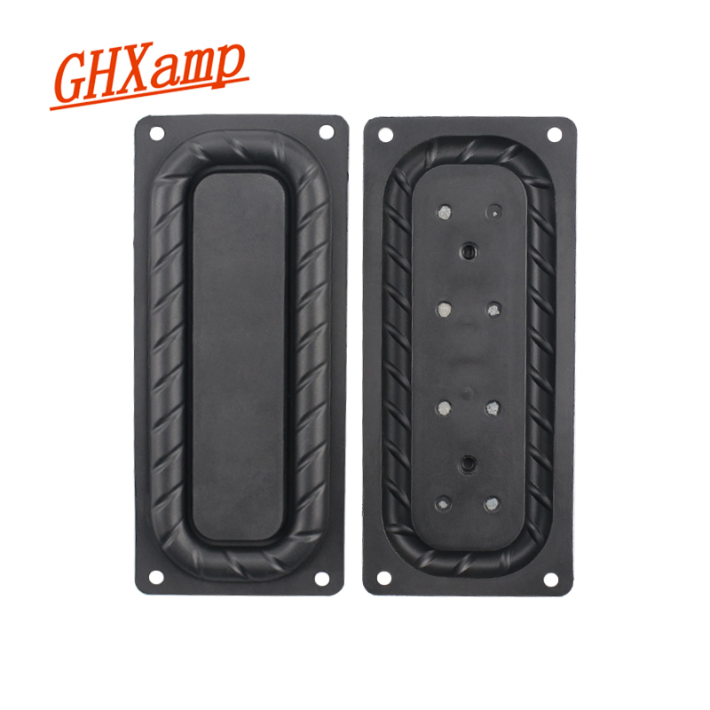 GHXAMP 107MM*47MM  Woofer Diaphragm Vibrating Radiator Passive Base Diaphragm For 3 Inch 3.5 Inch Bass Vibrating Plate 2Pcs