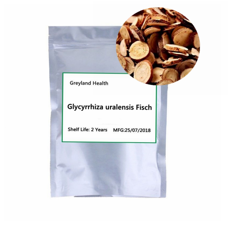 Glycyrrhiza uralensis Fisch, Dispelling phlegm and relieving cough, Good for your health. traditional Chinese medicine image