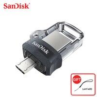 Sandisk  unidad Flash Original sdd3 de alta velocidad extrema  150 M/S  USB OTG Dual  64GB  128GB  32GB  16GB  USB 3 0  PenDrive auténtico