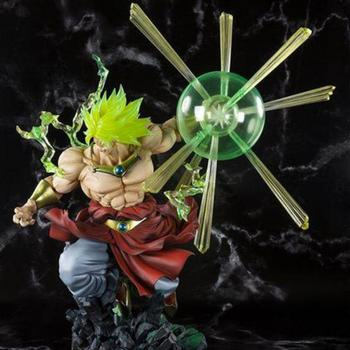 32cm Dragon Ball Super Limited Broly Action Anime Figures Model Super Saiyan Warrior Plus Figurals toy for children