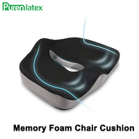 Coccyx Memory Foam Chair Orthopedic Pillow Office Seat Pad Hemorrhoid Treat Car Seat Big Cushion Relief Pain Tailbone Pillow