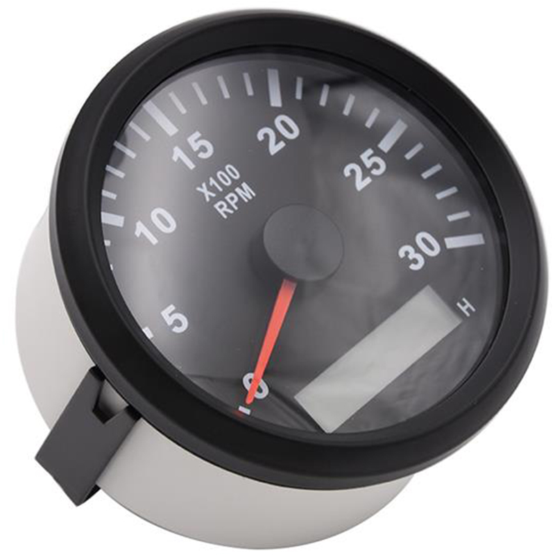 85mm Tachometer 3000RPM With Hour meter Truck Car Boat Diesel Engine Tacho rpm meter Gauge REV Counter With Backlight tacometro