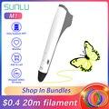 SUNLU M1 3D Ручка 3d Ручка профессиональная нить PLA PCL ультра-тихая работа 3D ручки дети исследуют творение гаджет
