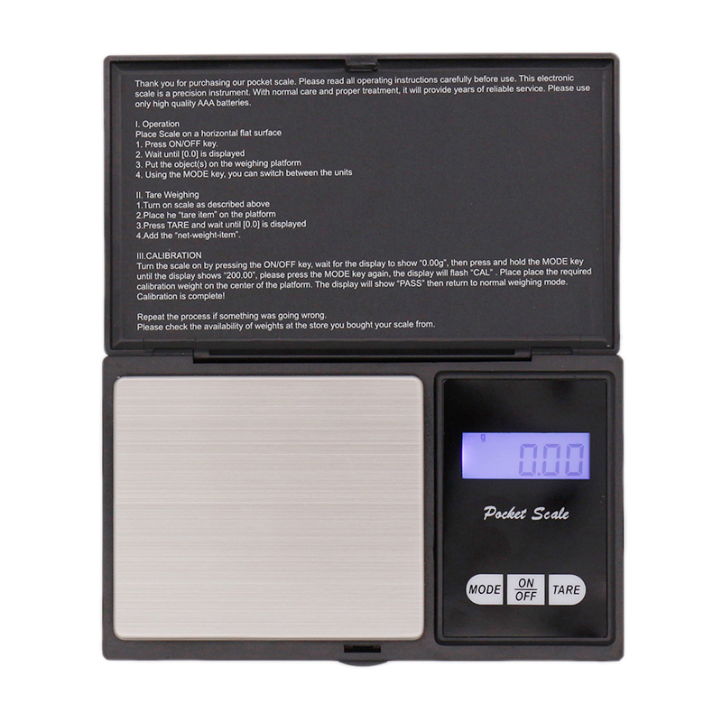 Mini High Precision Digital Scale Digital Kitchen Scale LCD Display 100g/0.01g Portable Homebrew Hop Scale Bar Accessories