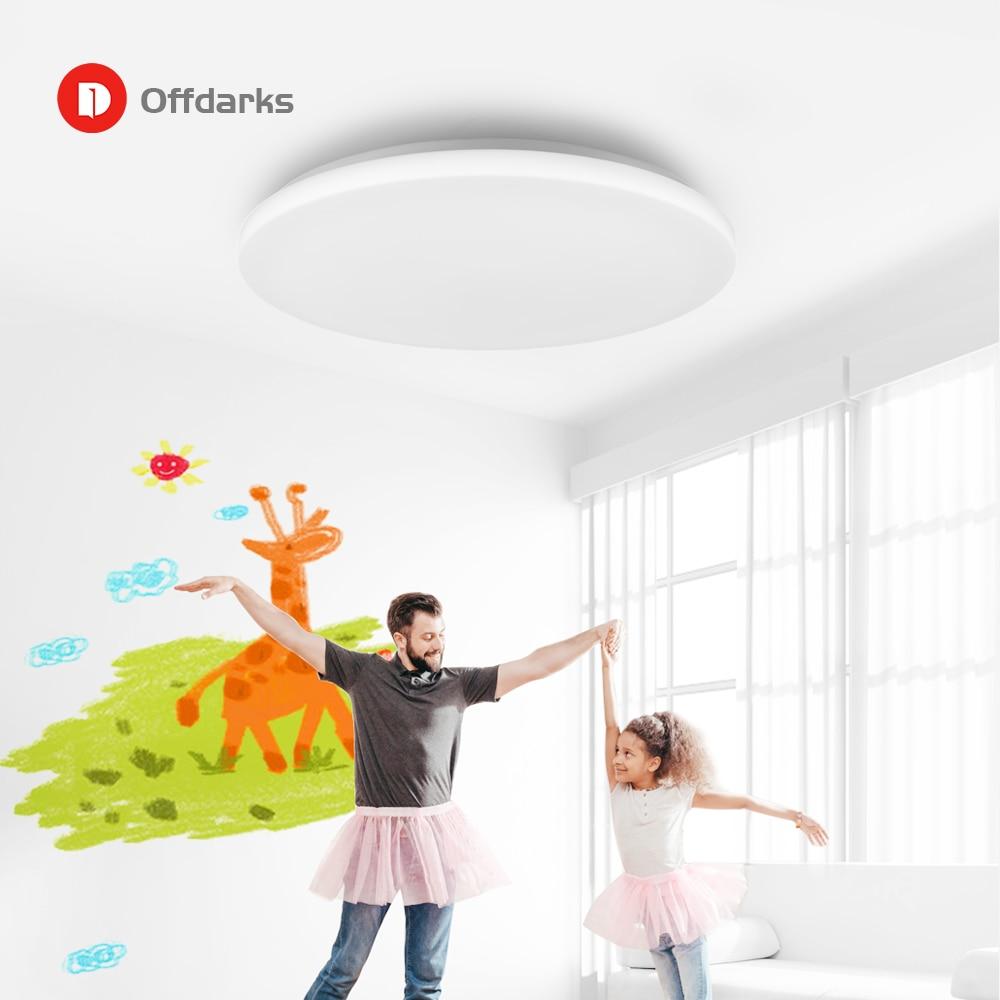 LED moderne plafonnier intelligent 36W48W, APP télécommande rvb gradation Bluetooth haut parleur éclairage à la maison AC85V 265V plafonnier - 6