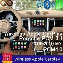 Sinairyu Wifi inalámbrico Carplay para Porsche 911 Porsche Macan Boxster 718 Panamera PCM3.1 PCM4.0 Android Auto espejo de 2010-2019 juego