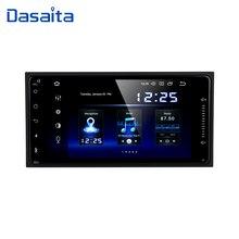 """Dasaita 7 """"アンドロイド 10.0 車のgpsラジオプレーヤートヨタカローラRAV4 ハイラックスオクタコア 4 ギガバイト 64 ギガバイト自動マルチメディア"""