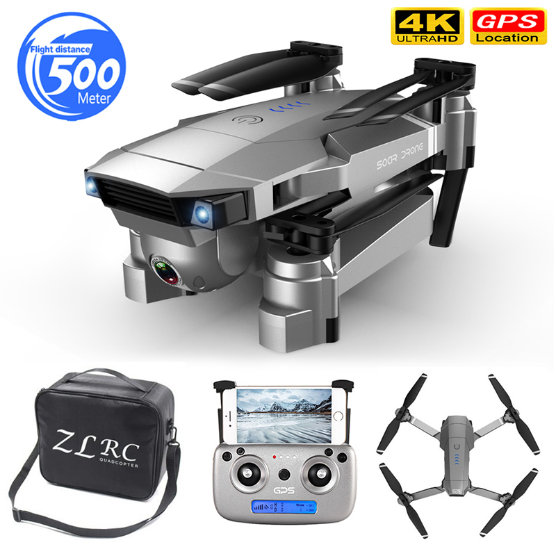 Hot sale Drone 4K HD Dual Camera GPS Smart Follow Wide-Angle Anti-shake 5G WIFI FPV RC Quadcopter Foldable 50X Zoom