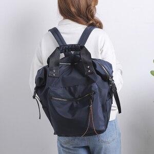 Image 5 - موضة الإناث على ظهره مقاوم للماء المرأة حقيبة ظهر مدرسية لللاب توب فتاة في سن المراهقة حقيبة مدرسية Mochilas الإناث على ظهره على ظهره كلية