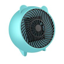 Space Heater Fan Heater Mini Space Heater Portable Electric Heaters Fan with PTC Ceramic Heating Element for Office Home цена и фото