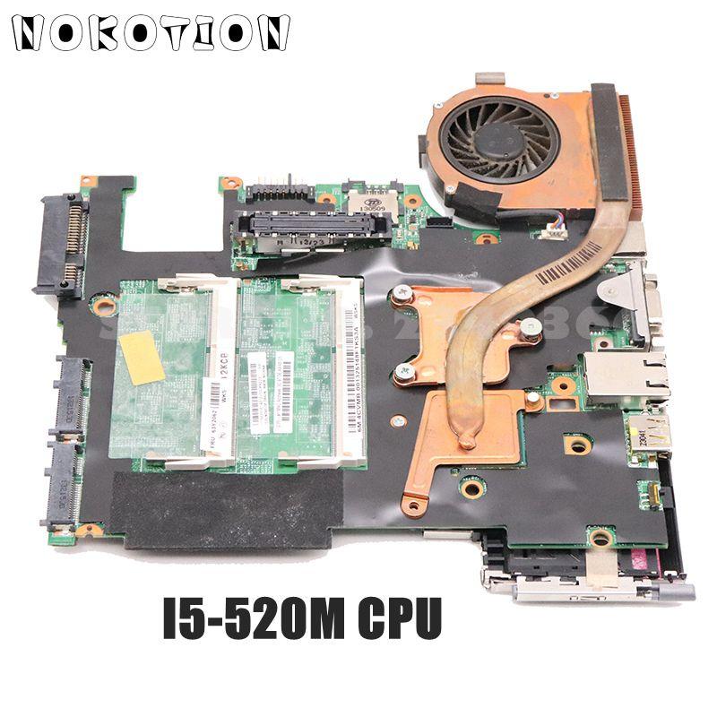 NOKOTION 63Y2062 48.4CV01.021 For Lenovo ThinkPad X201 Laptop Motherboard I5-520M CPU DDR3 Full Test