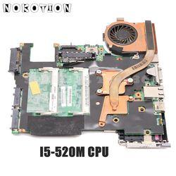 NOKOTION 63Y2062 48.4CV01.021 dla Lenovo ThinkPad X201 laptop płyta główna I5-520M CPU DDR3 pełny test
