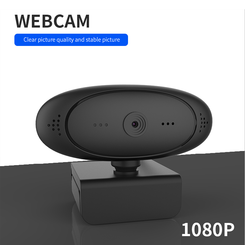 PC Laptop Auto Focus Webcam 1080P HD USB Camera Built-in Noise Cancel Microphone Web Camera For Video Call Live Stream