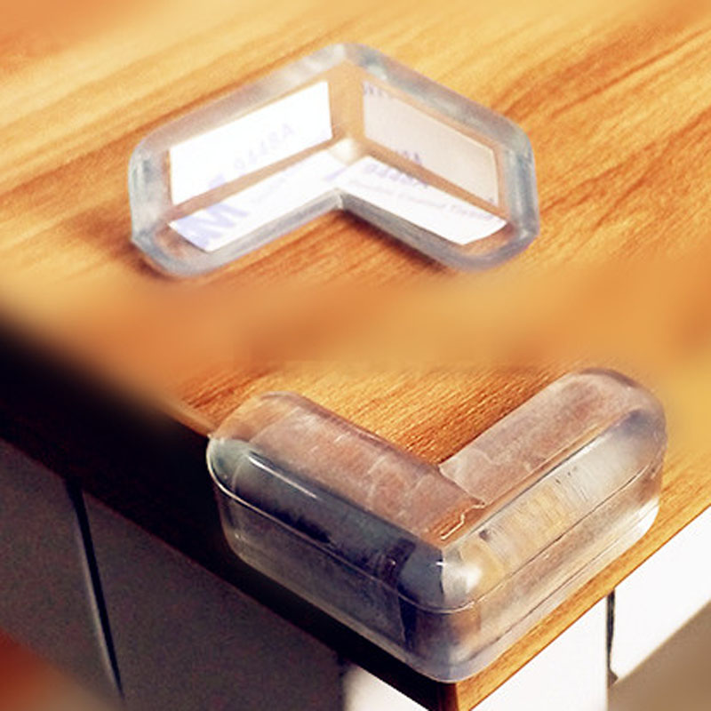 20pcs/lot Baby Safety Silicone Protector Table Corner Edge Protection Cover Children Anticollision Guards LA875386