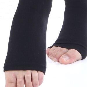 Image 3 - 30 40 mmHg uyluk yüksek sıkıştırma çorap kadınlar & erkekler tıbbi çorap, hemşirelik, yürüyüş, varisli, seyahat uçuş, koşu ve spor