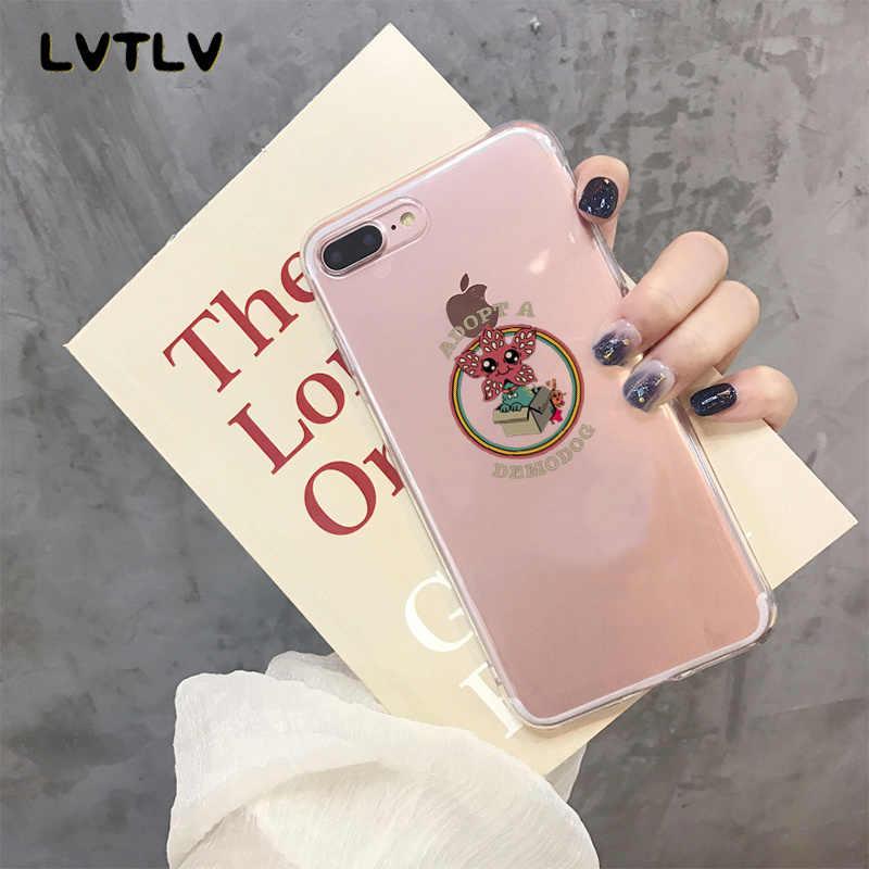 Lvtlv Harus Tetap Harus Asing Hal Hitam Soft Shell Penutup Telepon untuk iPhone 11 Pro XS MAX 8 7 6 6S Plus X 5 5S SE XR