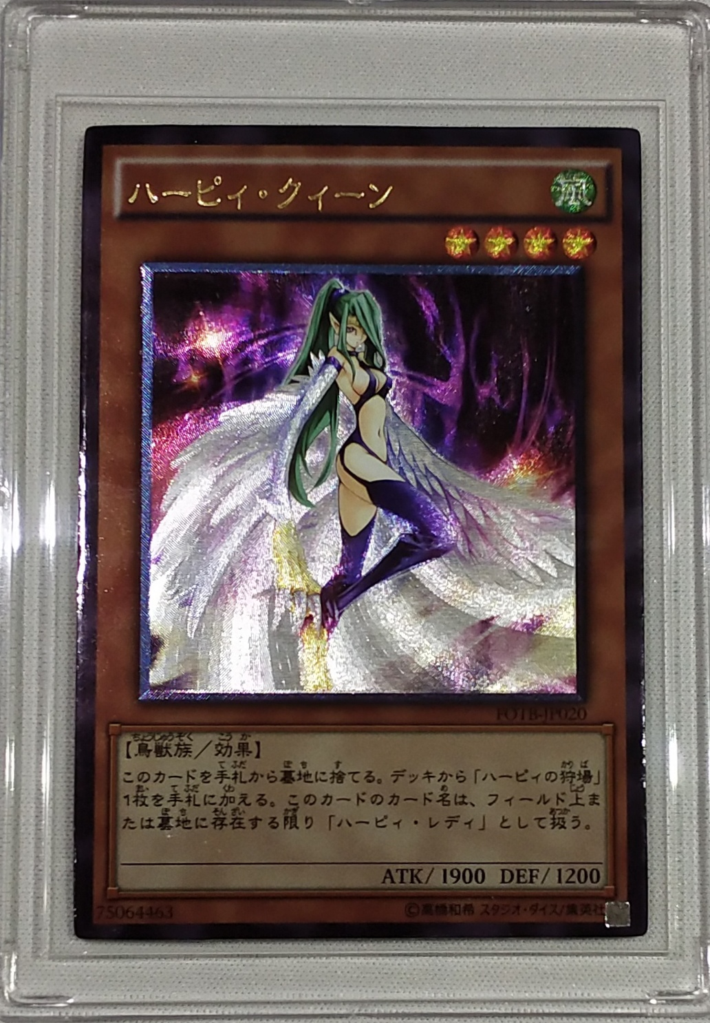 Yu Gi Oh Harpie Girl DIY Toys Hobbies Hobby Collectibles Game Collection Anime Cards