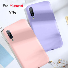 Soft Case For Huawei Y9s Case Slim Candy Color Silicone Back Cover For Huawei Y9 s Coque Funda Y 9 s 6.59 inch y9 s candy color silicone soft case for huawei y9s cover soft back phone cover for huawei y 9s phone cases