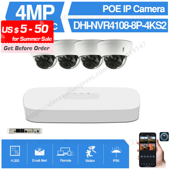 Dahua 4MP 8+4 Security CCTV Camera Kit NVR4108-8P-4KS2 IP Camera IPC-HDBW4433R-ZS 5X ZOOM P2P Surveillance Kits Easy Install dahua 4mp 8 4 security camera system 4mp ip camera ipc hdw4433c a 8ch poe nvr4108 8p 4ks2 surveillance p2p system remote view