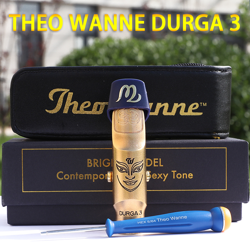 THEO WANNE DURGA 3 Sopran Alto Tenor Sax Metal Mouthpiece Bb Eb Original
