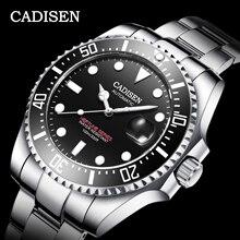 CADISEN Japan Mechanical Movement Watch Men 100M Waterproof Top Brand A
