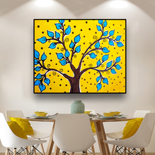 Life Tree Picture Lucky Tree Painting Tree Canvas Art Family Tree Poster Colourful Leaf Tree Spray Wall Art Painting Home Decor canvas painting poster colourful leaf trees 4 piece painting wall art modular pictures for home decor wall art picture painting