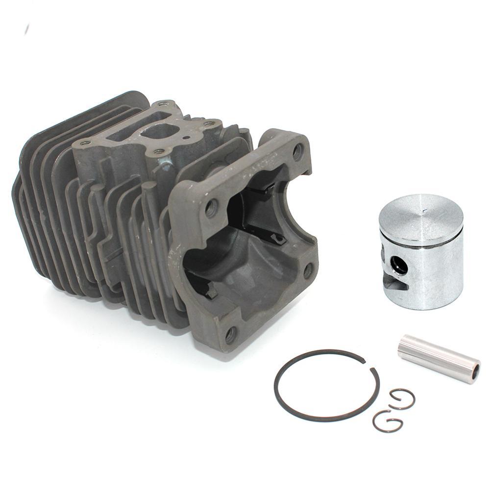 Poulan P3314WSA P3416 Nikasil Kit P3818AV P3314 P4018 BH P3314WS Piston P4018AV Cylinder For P4018 P3516PR Chainsaw P4018AV