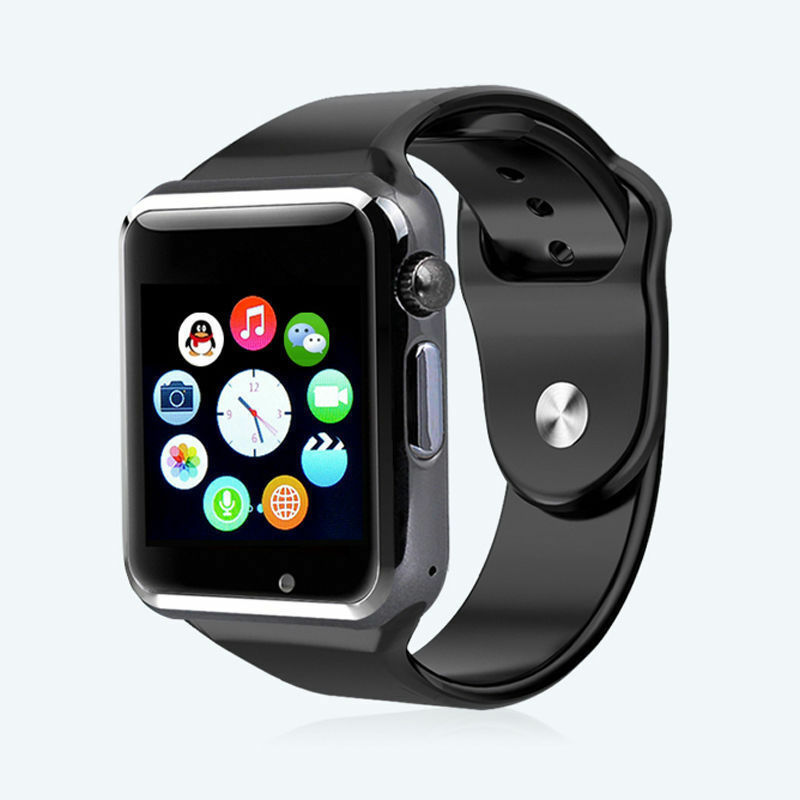 A1 Bluetooth Wrist Smart Watch 1.52 Inch Sport Pedometer With GSM SIM 0.3MP Camera SmartWatch Waterproof For Android I-OS