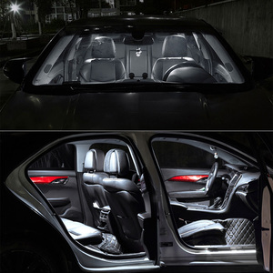 Image 3 - TPKE Lámpara LED Canbus blanca para Interior de coche, Kit de bombillas para Subaru Forester, mapa, domo para maletero o matrícula, 2019 2020, 8 Uds.