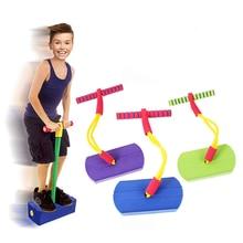 Foam Pogo Stick Bungee Jumper For Kids Indoor Outdoor Fun Sports Fitness Toddler Boys Girls Children Games Sensory Toys