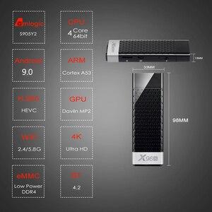 Image 3 - X96SทีวีMini PC TV Box Android 9.0 Amlogic S905Y2 4GB RAM 32GB EMMC BT4.2 4K HD 5G WiFi PK X96มินิสมาร์ททีวีAndroid Box