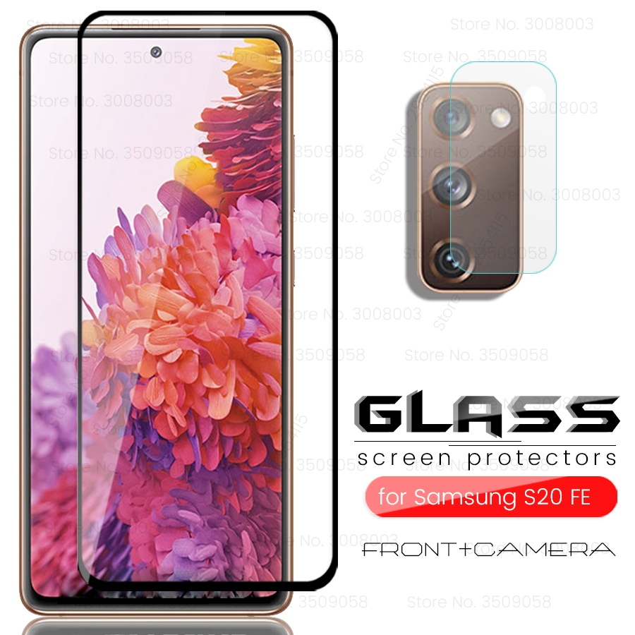 Camera Protectors For Samsung Galaxy S20 FE Tempered Glass On Gelaxi S20FE S20 Fan Edition 2020 SM-G