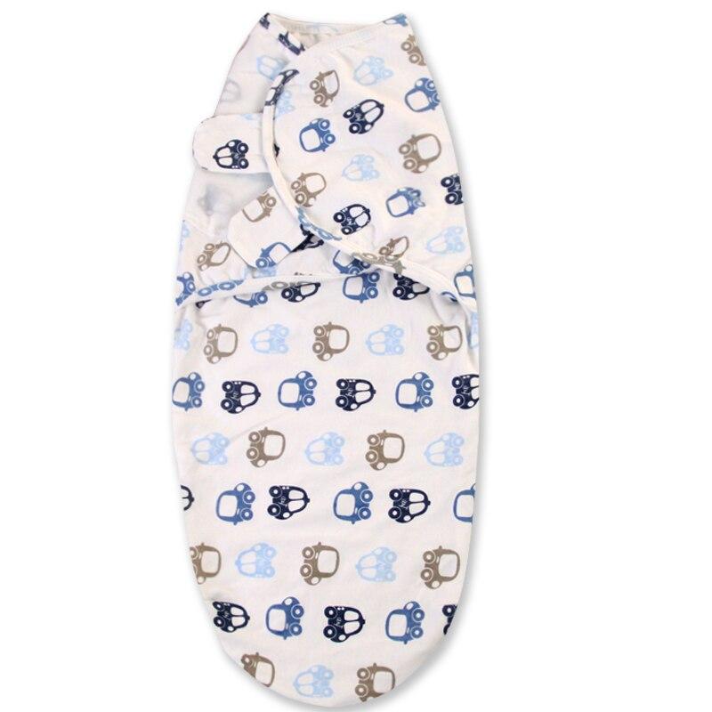 0-3 Months 100% Cotton Baby Swaddle Wrap Blanket Newborn Infants Baby Envelop Sleep Bag Sleepsack Mantas Para Bebe KF679 | Happy Baby Mama