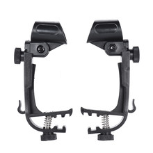 2 pcs Microphone Adjustable Stage Drum Clips Mic Rim Snare Mount Clamp Holder Groove Gear Studio Stand Drum Set Parts(China)
