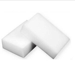 Image 1 - 100 Uds limpieza Borrador de esponja mágico blanco limpiador de melamina, multi funcional 100x70x30mm