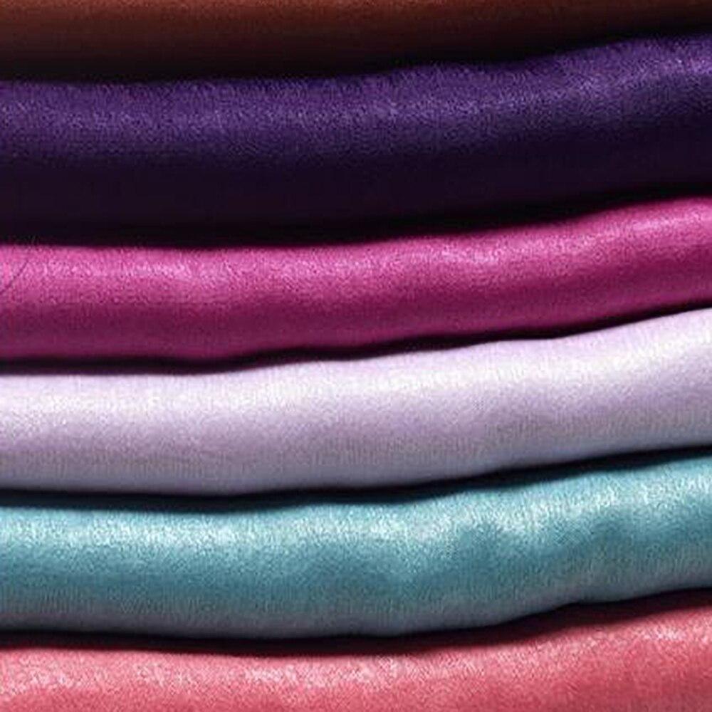 Velvet Silk Satin Fabric 24 Color Options For Clothing/DIY/ Home Crafts/Garden Artwork Woven Fabrics (Width: 150CM)