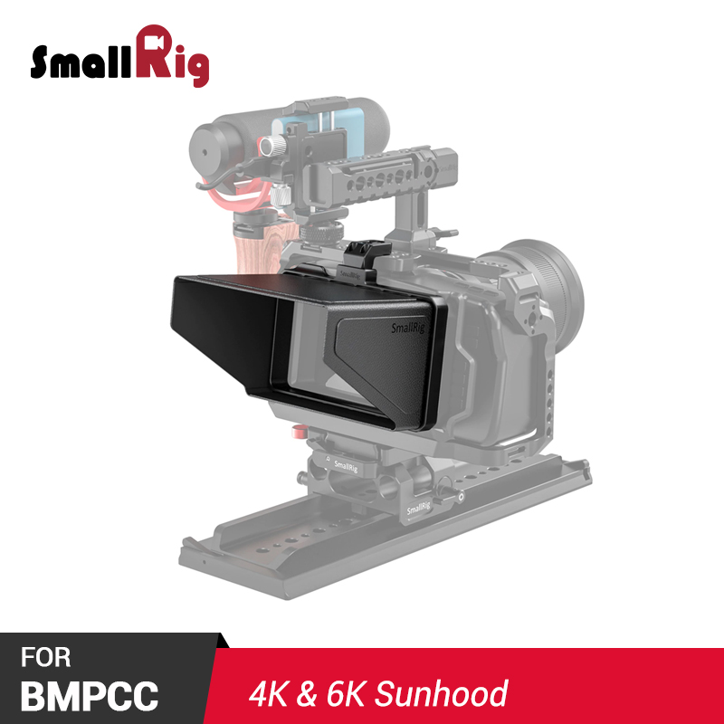 SmallRig BMPCC 4 K Camera Sunhood Sun Hood For BMPCC 4K & 6K Camera Sunshade 2299