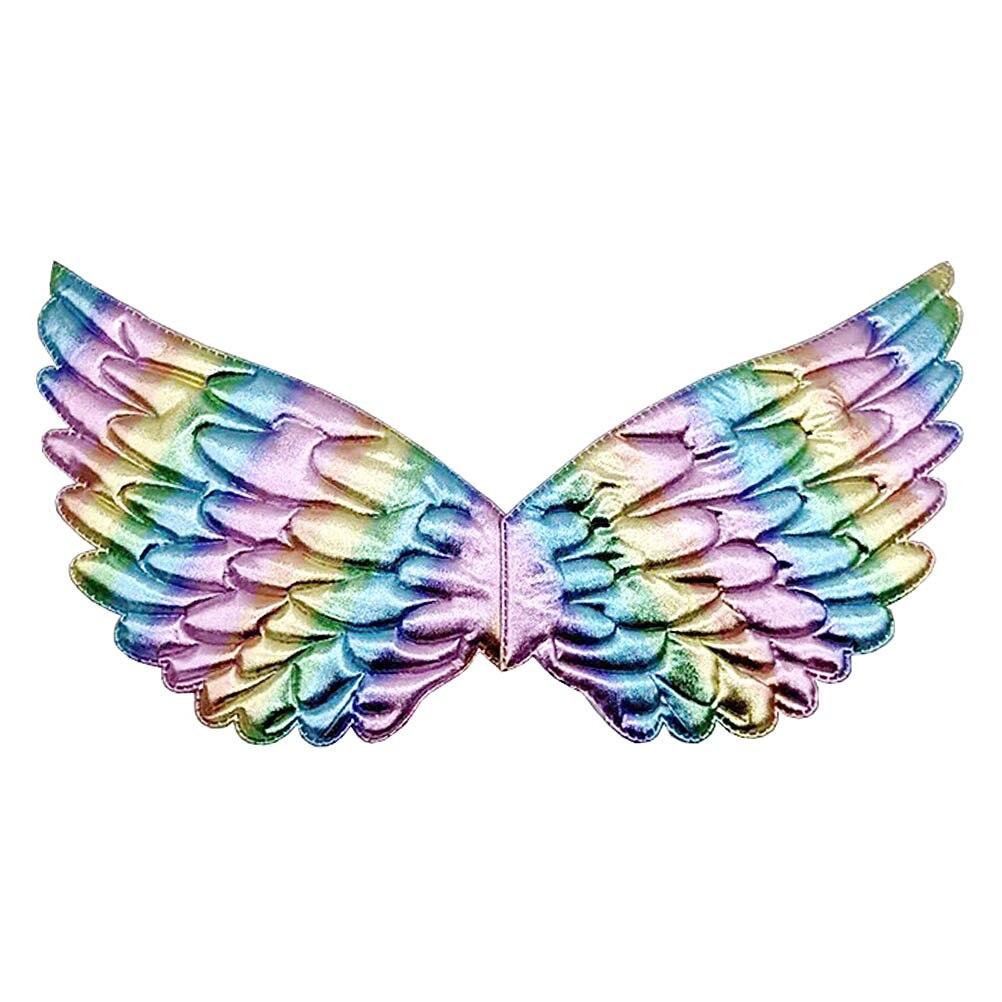 Крылья единорога для Хэллоуина для девочек, аксессуары для костюмов Феи принцессы, день рождения, Рождественская вечеринка