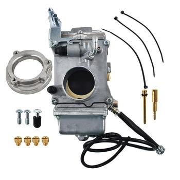 HSR42mm for Mikuni Carburetor Harley Davidson HSR42 TM42-6 Evo Twin Cam Carb недорого
