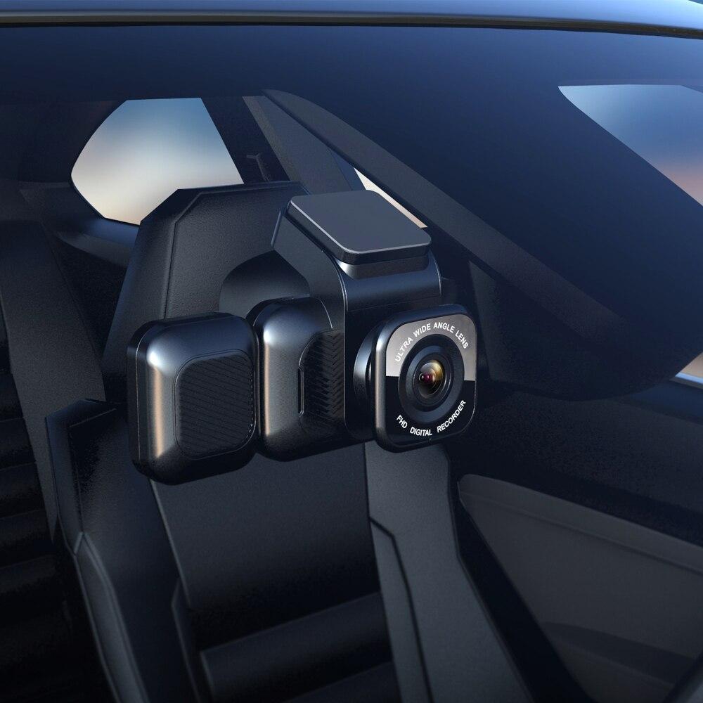 Aiba A12 WDR 1296P встроенный WiFi приложение видеорегистратор ночного видения Автомобильная камера рекордер с тремя объективами видеорегистратор ...