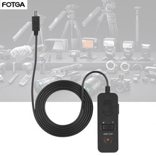 FOTGA RM VS1 מצלמה תריס שחרור כבל עבור Sony A7 A7R A7S A7II A7RII בקרת תריס שחרור כבל מצלמות DSLR