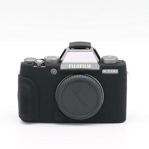 Image 4 - Silicone Caso Saco Da Câmera para Fujifilm X100V X T200 X T100 XT100 XT4 X T4 X T3 X T30 XT30 X A7 XA7 X T20 X T10 X A5 X A20 XT200