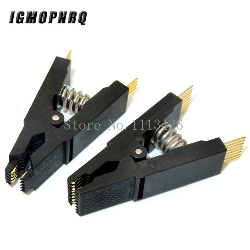 Программист тестовый зажим SOP8 SOP16 SOP SOIC 8 SOIC 16 SOIC8 SOIC16 SOIC8 DIP16 DIP 8 Pin DIP 16 Pin IC тестовый зажим без кабеля