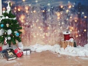 Image 5 - Laeacco doğum günü partisi Photophone ışık Bokeh Glitters Polka Dots bebek duş yenidoğan portre fotoğrafçılığı arka planında arka