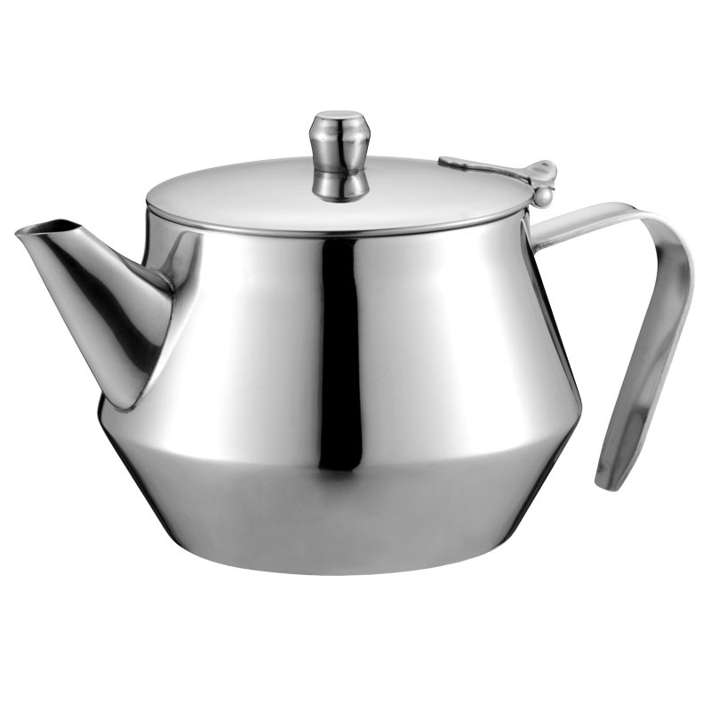 Thick Stainless Steel Teapot Coffee Hotel Restaurant Oil Pot Soy Sauce Pot Spice Bottle|Teapots| |  - title=