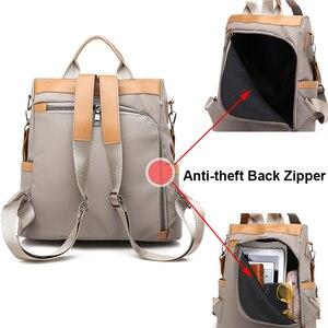 Image 2 - Anti theft Women Backpacks Waterproof Nylon Women Backpack Ladies Large Capacity Backpack High Quality Bagpack sac a dos