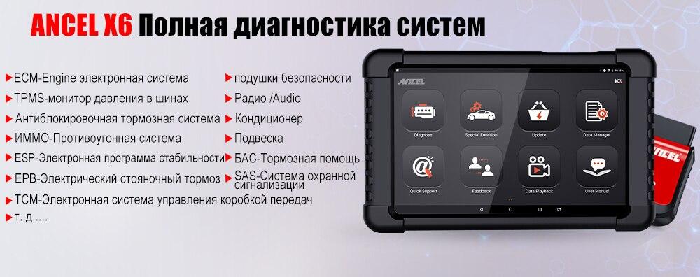 EUCLEIA S7C Профессиональный OBD2 сканер tablet сканирования для DPF EPB TPMS Сброс