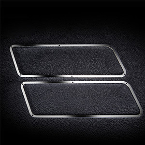 Image 4 - Metal Side Window Frame+Rear Window Frame+Front Window Frame For 1:10 TRAXXAS TRX 4 TRX4 Ford Bronco RC Car Parts