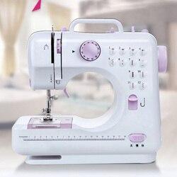 Máquina de coser Fanghua 505, Mini Manual para coser, Asistente portátil, nuevo hogar, escritorio eléctrico, multifuncional, con cerradura gruesa