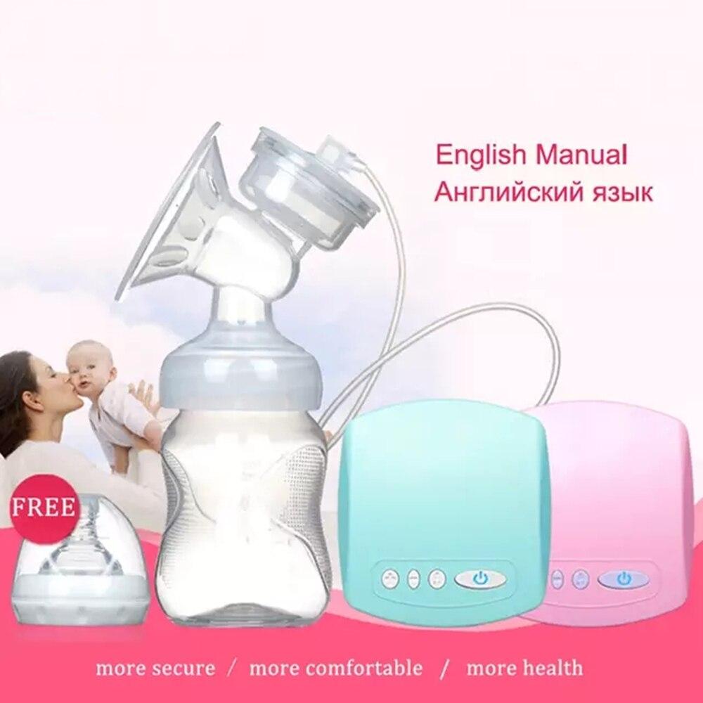 Christmas 2019 Intelligent Automatic Electric Breast Pumps Nipple Suction Milk Pump Breast Feeding USB Electric Breast Pump